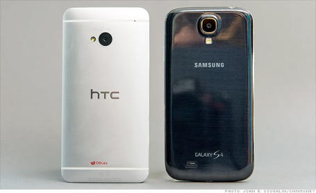 htc-one-samsung-galaxy-s4