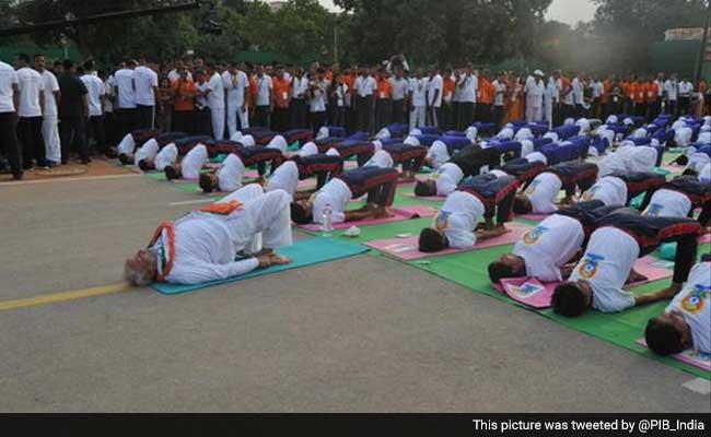 yoga day modi